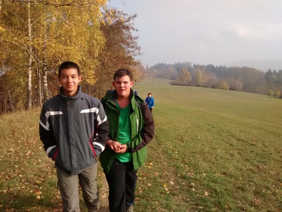 Fotky z podzimní chaty
