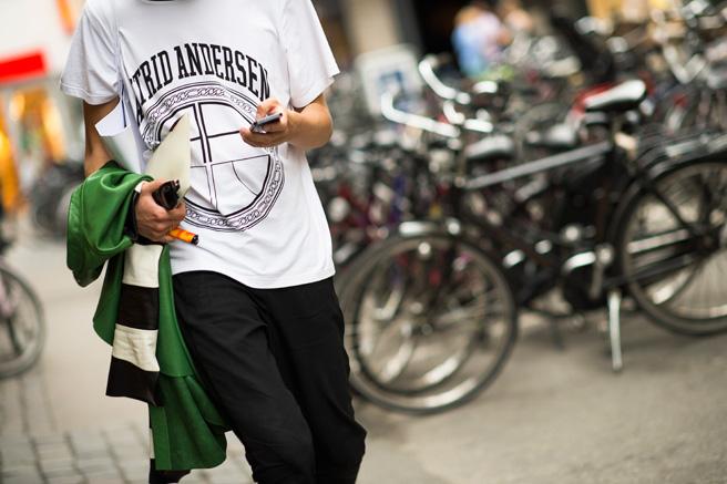 *秀場外的街拍:Copenhagen Fashion week 熱鬧登場! 10
