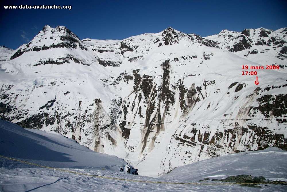 Avalanche Haute Maurienne, secteur Pointe de Méan Martin, Granges des Druges - Photo 1