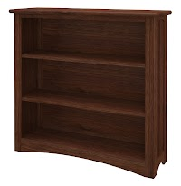 Walnut Standard Bookshelves