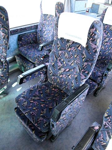 名鉄バス「名古屋~高松線」 2607 シート