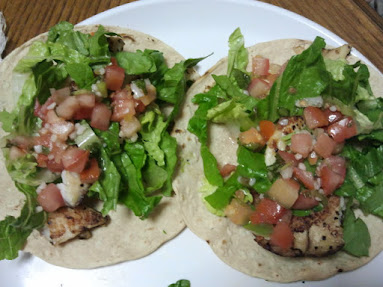 eating healthy fish tacos fitness diet