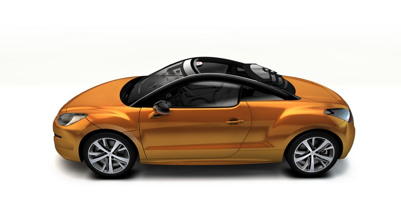 Peugeot RCZ Sports Car Concept