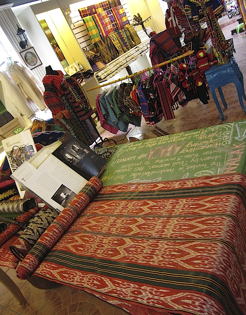 T'nalak and other indigenous fabrics at The Manila Collectible Co.