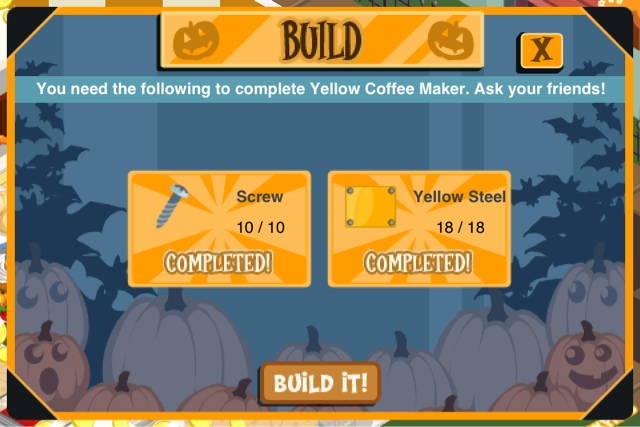 Sami s Stories: Yellow Coffee Maker Parts Requirements (RS)