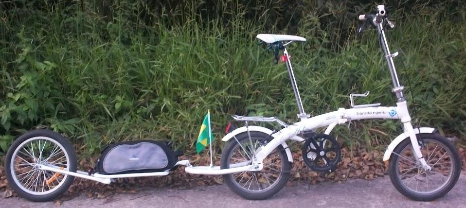 Bicicleta Dobrável + Bike Trailer Dobrável 100_4433