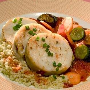 Ρολά Ψαριού με Λαχανικά,Rolls Fish with Vegetables.