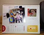 Kjøpt kalender fra Sykehusklovnene!