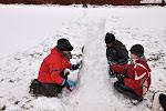 Hra o nejvyšší věž ze sněhu... (tým 1)