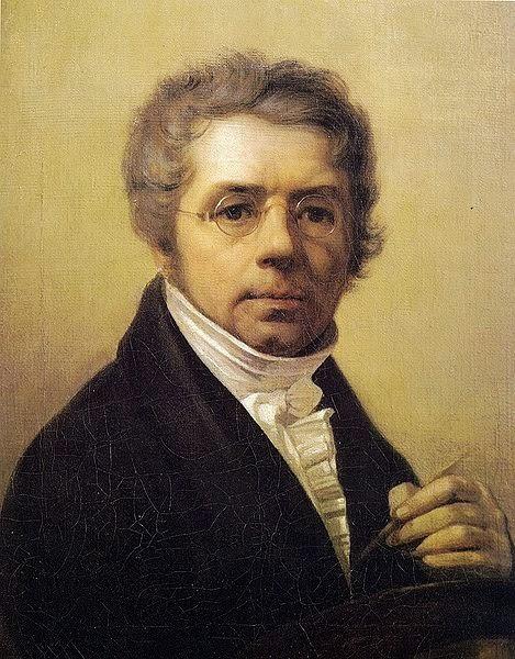 Alexei Venetsianov - Self-portrait, 1811