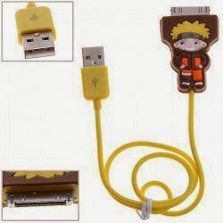 Dock Connector to USB Power  &  Data Cable for iPhone 4S, iPhone 4, iPhone 3G/3GS, iPod (NARUTO)