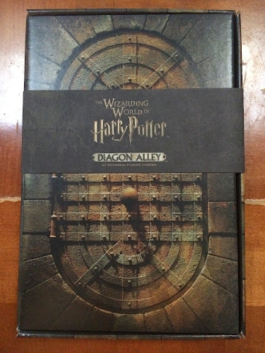 Diagon alley media preview invitation