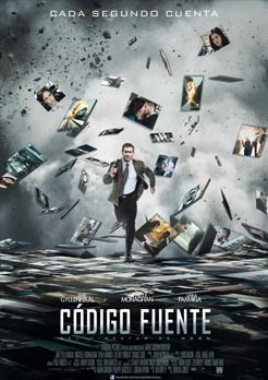 Cartel de Código fuente de estreno en abril