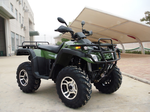 550cc Trident EFI V-twin Farm ATV 4x4 Quad Bike Green