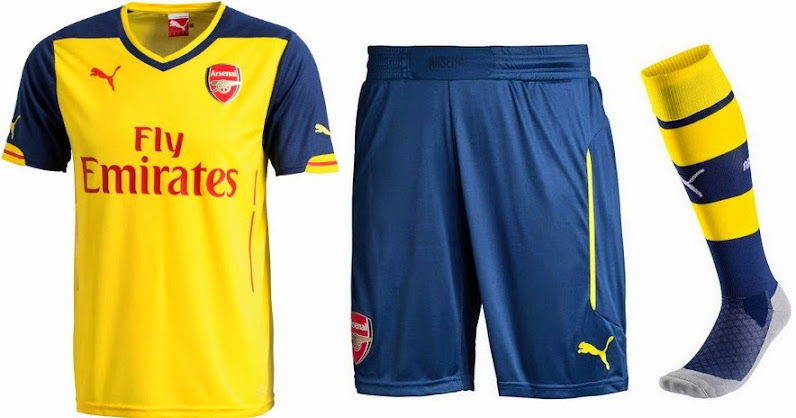 Third Home - Kits New Released Away 2014-15 Arsenal|Redskins Topped The Slumping Broncos 27-17
