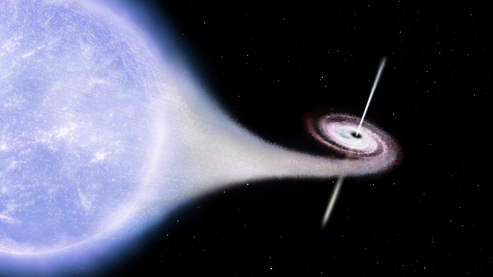 black holes in space in action - photo #8