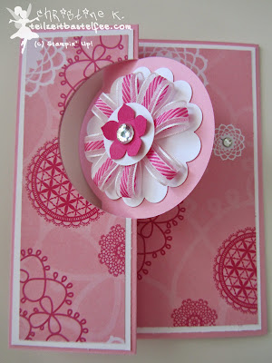 stampin up, flip card, petite petals, dsp flirtatious, dp retro-romantik, happy day, sonnenschein, in worte gefasst, express yourself