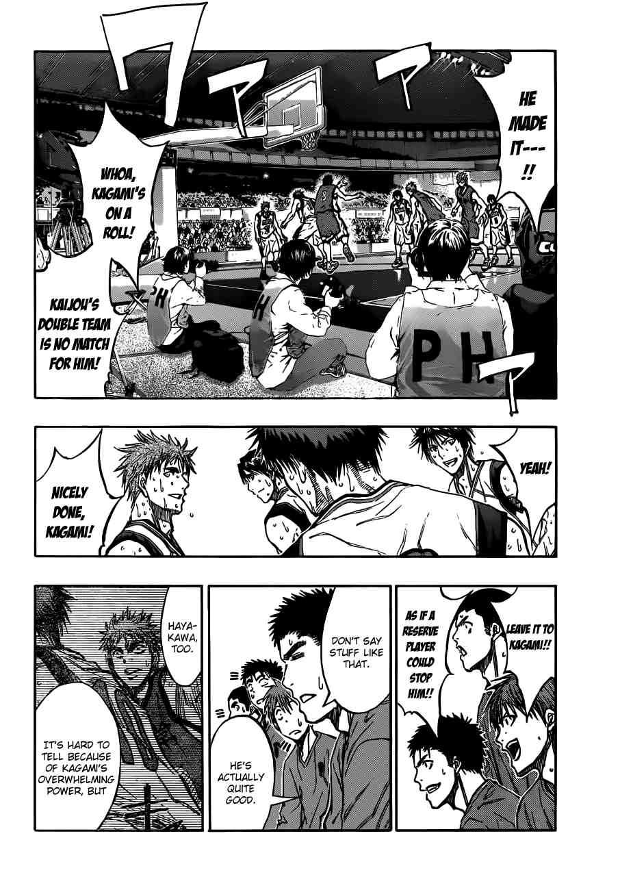 Kuroko no Basket Manga Chapter 192 - Image 04