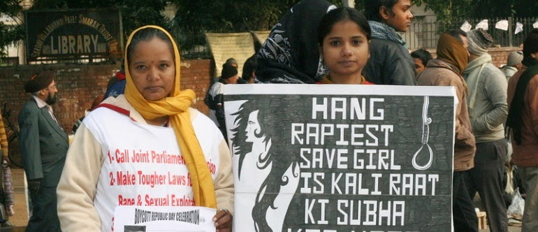You may think that those demanding the death penalty for rape are fighting for a woman's dignity. I do not believe that is the case. In fact, quite the opposite.<br></br>creative commons licensed (BY-NC) flickr photo by ramesh_lalwani: http://flickr.com/photos/ramesh_lalwani/8342437118
