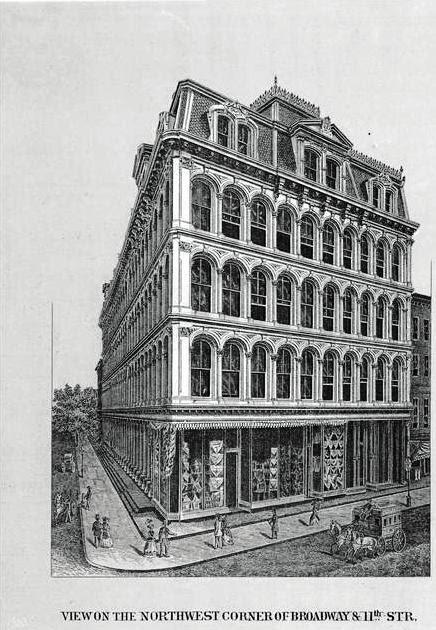 Daytonian In Manhattan The 1868 Mccreery Amp Co Dry Goods