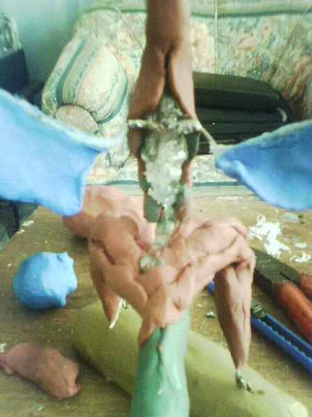 Dragon 2 en plastilina
