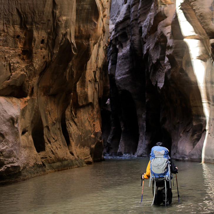 The Narrows Zion National Park {25 Epic National Parks in America You Must See}