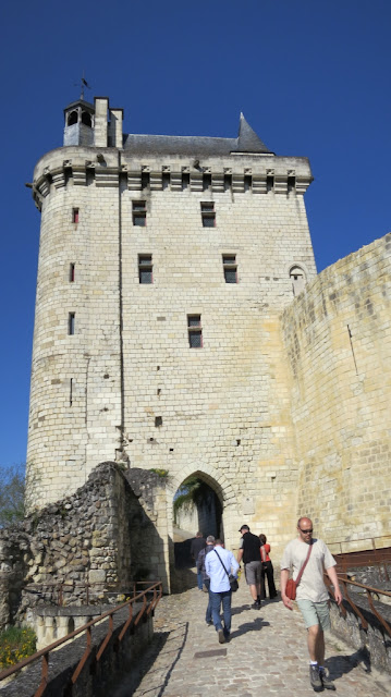 Tower at Chinon, France