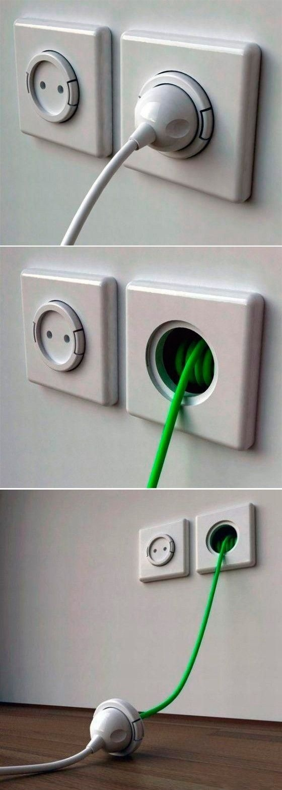Extended Wall Socket