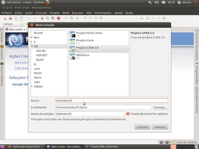 Desenvolvendo em C# no Linux com o MonoDevelop | Programação