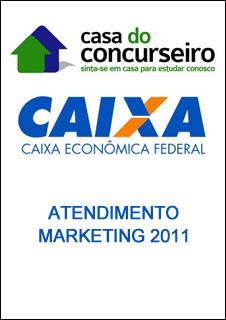 atendimento marketing100 Download   Caixa Econômica   Atendimento Marketing   CESPE