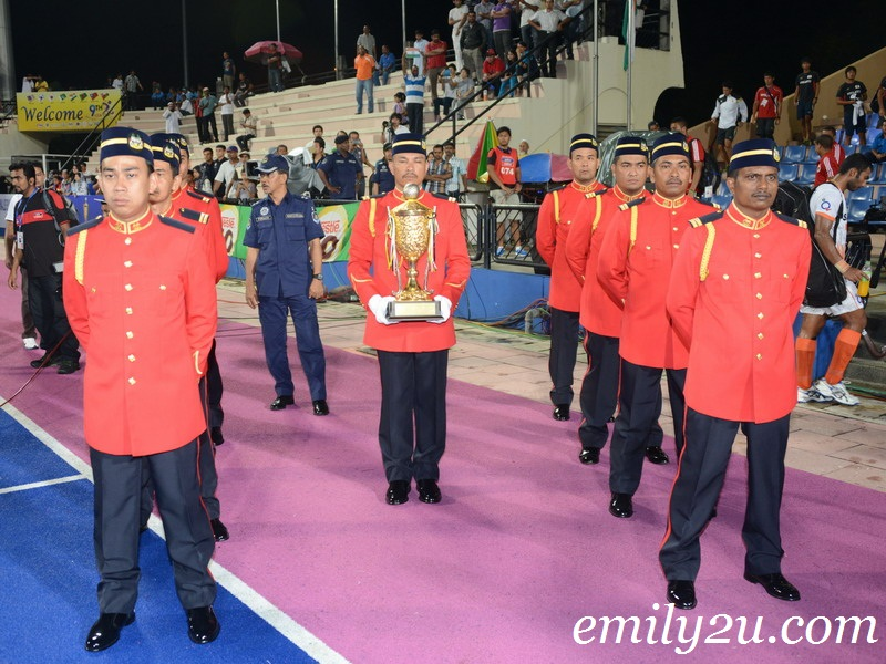 9th Asia Cup 2013 Results & Prize Presentation Ceremony