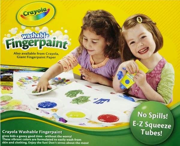 Bộ 4 màu vẽ bằng tay Crayola có thể tẩy rửa được phù hợp với trẻ trên 3 tuổi