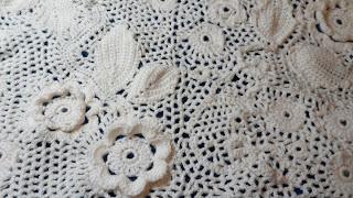 Chunky Irish Crochet.