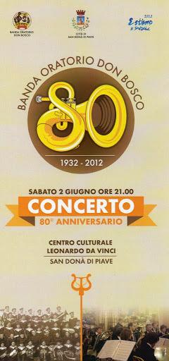 locandina concerto del 2 giugno 2012