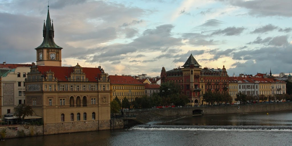 Prague Czech Republic city-break old town architecture Vltava