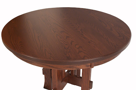 "42"" Seville Round Table in Blackened Oak"