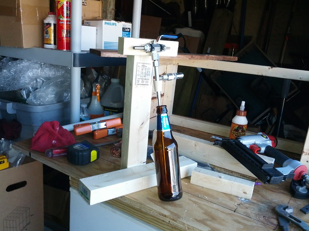 Diy Counter Pressure Bottle Filler Stand Image Collections