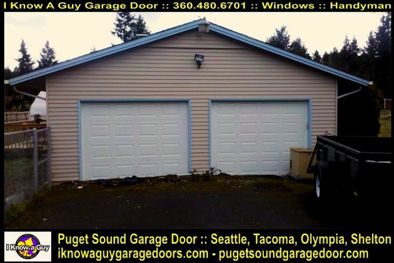 Garage door south park village wa gdor seattle tacoma for Garage door repair tacoma