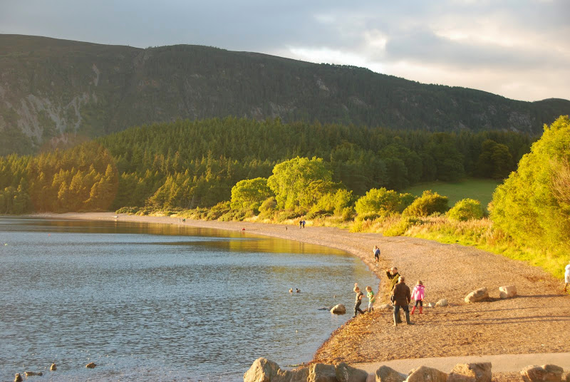 On the shores of Loch Ness