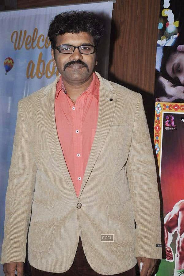 Rishikesh Joshi during the screening of Poshter Boyz, in Mumbai, on July 30, 2014. (Pic: Viral Bhayani)