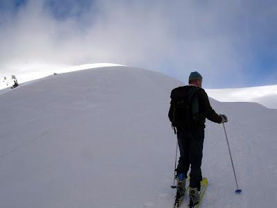 Na grebenu pod vrhom.   © enjanez.net