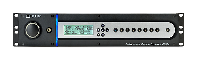 Procesador Dolby Atmos CP850