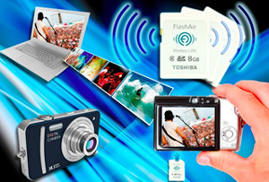 Eye-Fi of Toshiba: World first Wireless SD card Launch
