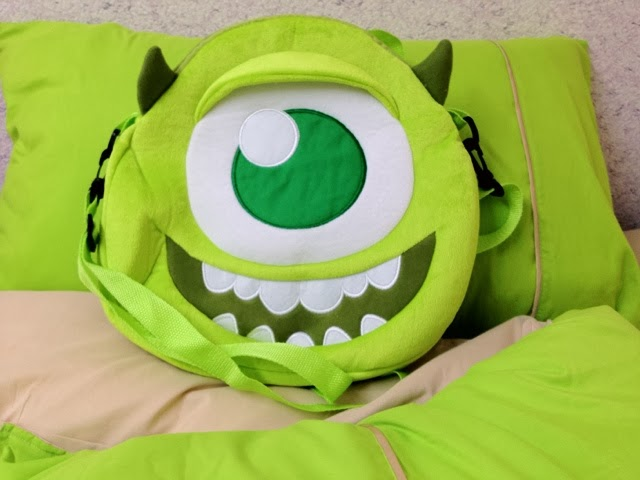 Monster Inc Mike backpack