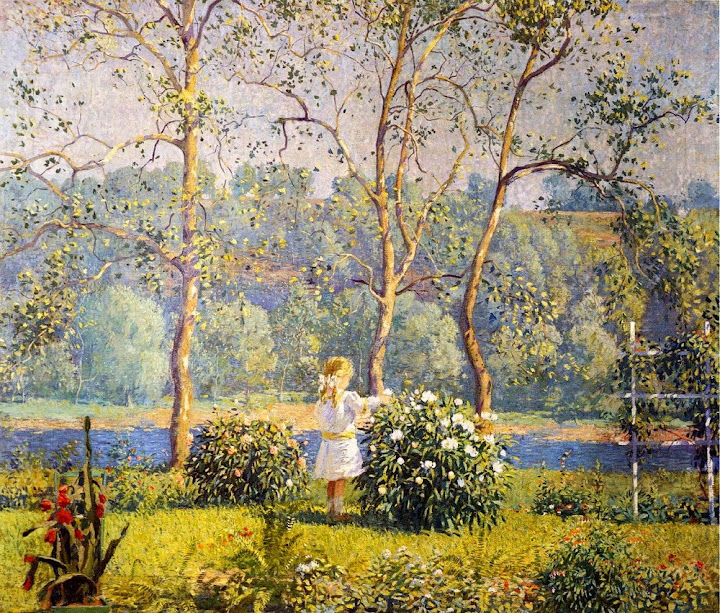 Daniel Garber - May Day, 1912