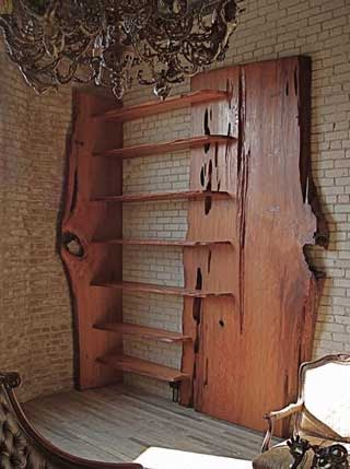 3d Furniture For Sketchup Live Edge Wood Shelf
