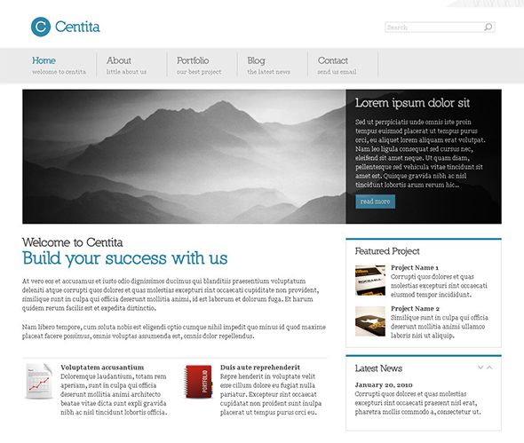 Centita WordPress Business Theme