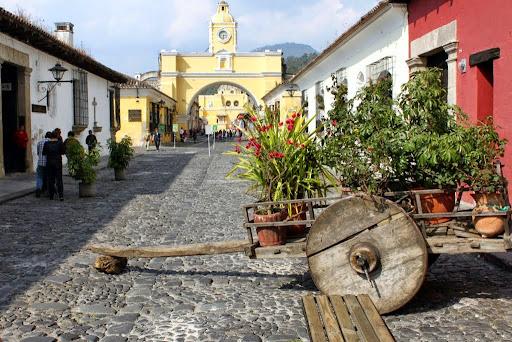 Arco de Santa Catalina.  From Hit The Road to Antigua: Top Five Road Trip Destinations of Guatemala