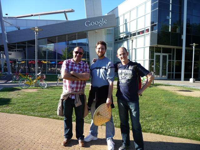 De paseo por el Campus de Google