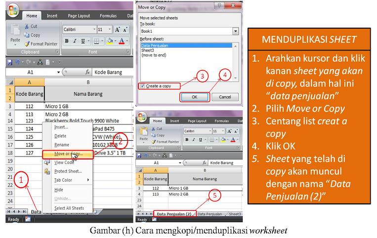 apa yang dimaksud dengan spreadsheet pada microsoft excel 2007